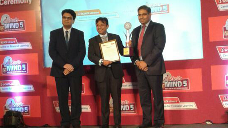 IBF's student wins ICICI StockMIND Season 5 (Undergraduate category)