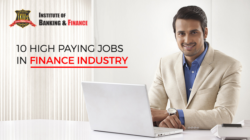 jobs in finance industry